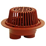 3046 Dual Outlet Roof Overflow Drain Wade