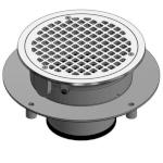 "9000 8"" Diameter Floor Sink"